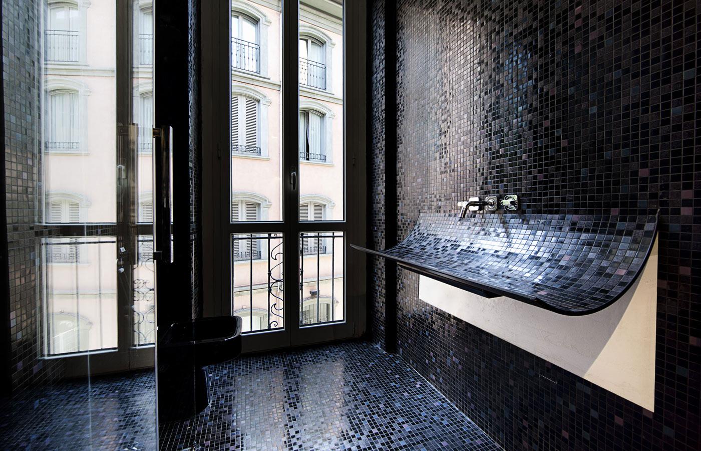 curved sink surreal home design