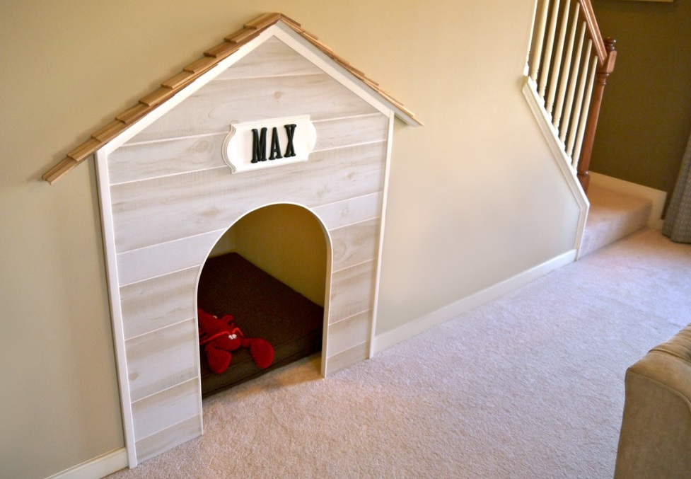 dog house stairs