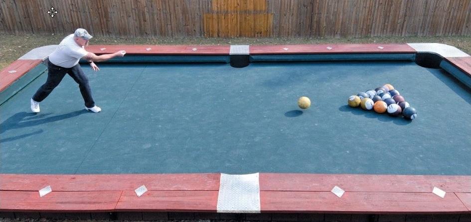 giant pool table