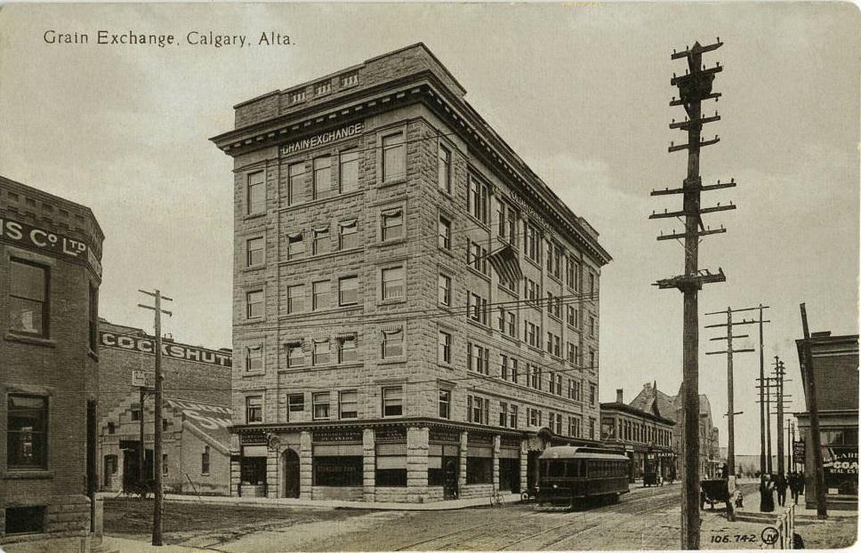 grain exchange Calgary historic-1