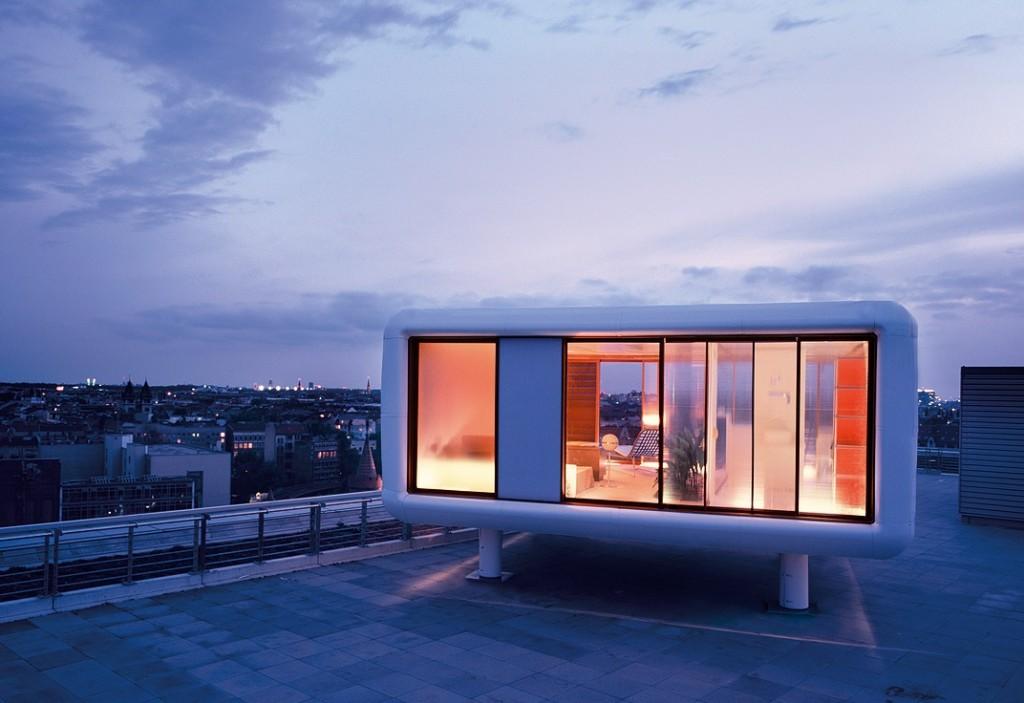 loft cube tiny house