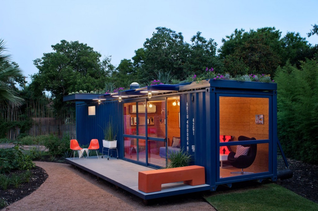 shipping container home tiny house