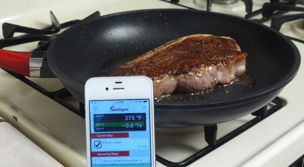 smart frying pan futuristic kitchen gadgets