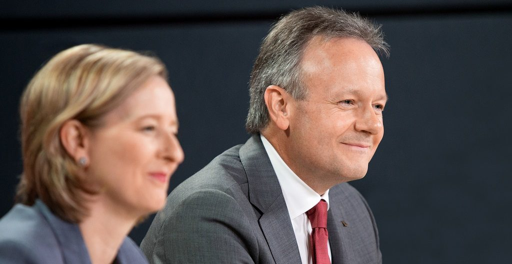 Bank of Canada governor Stephen Poloz and deputy governor Carolyn Wilkins