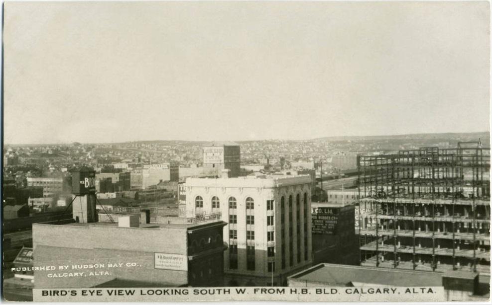 Calgary historic bird's eye view-7