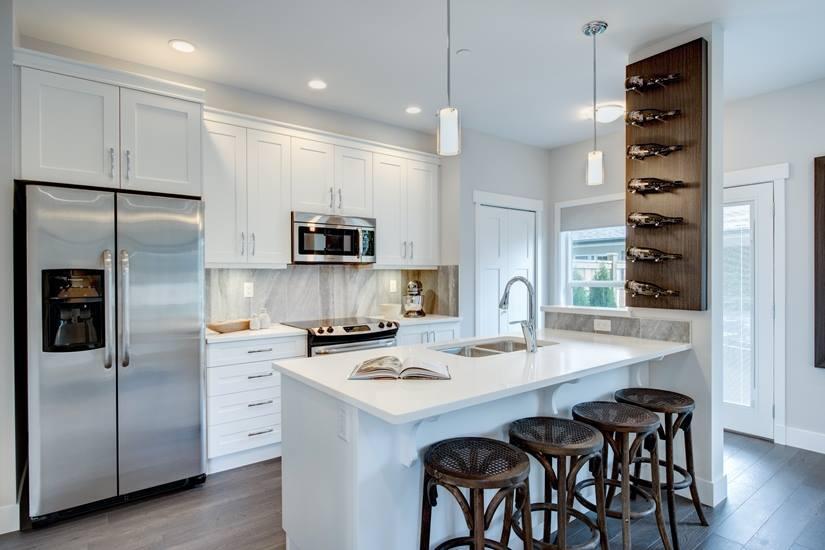 Cliffstone row homes Maple Ridge kitchen
