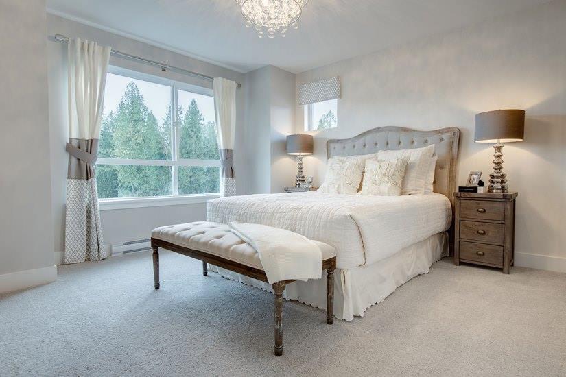 Cliffstone row homes Maple Ridge master bedroom