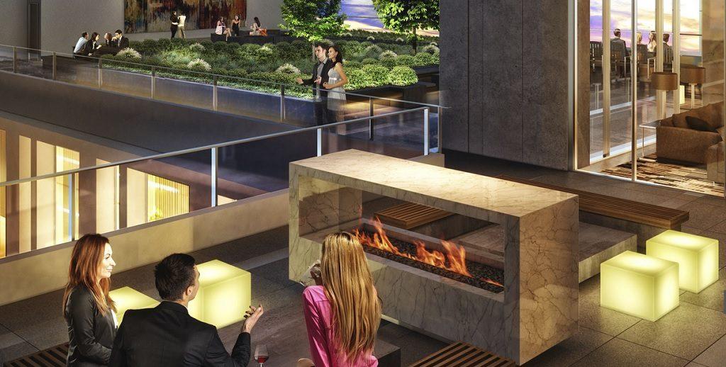 Modello amenities Burnaby condos