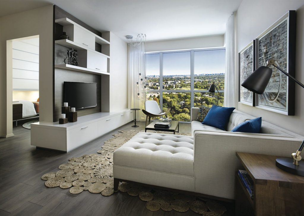 Ravine living room