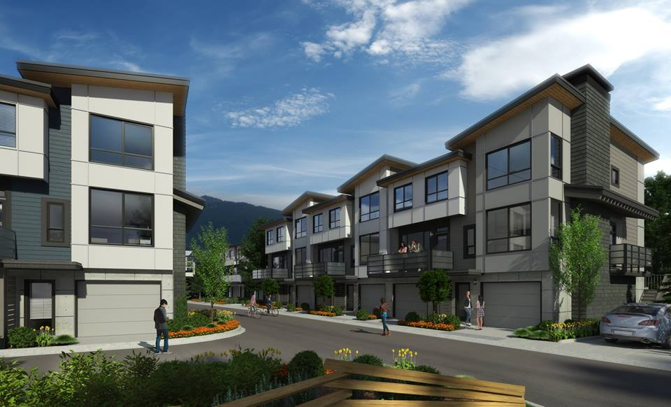 The Falls Squamish townhomes