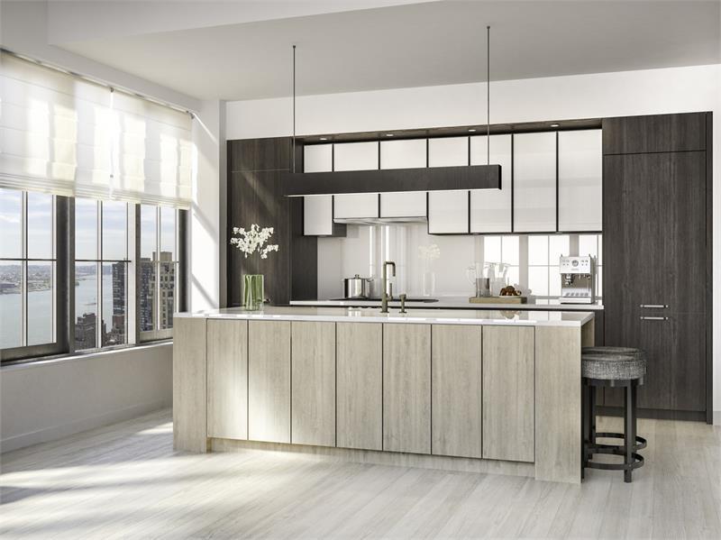 The Sutton kitchen rendering