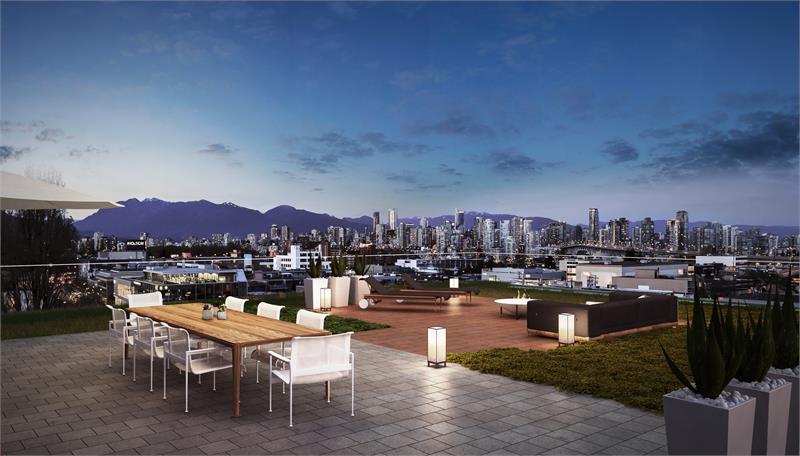 West Five outdoor living Vancouver condos