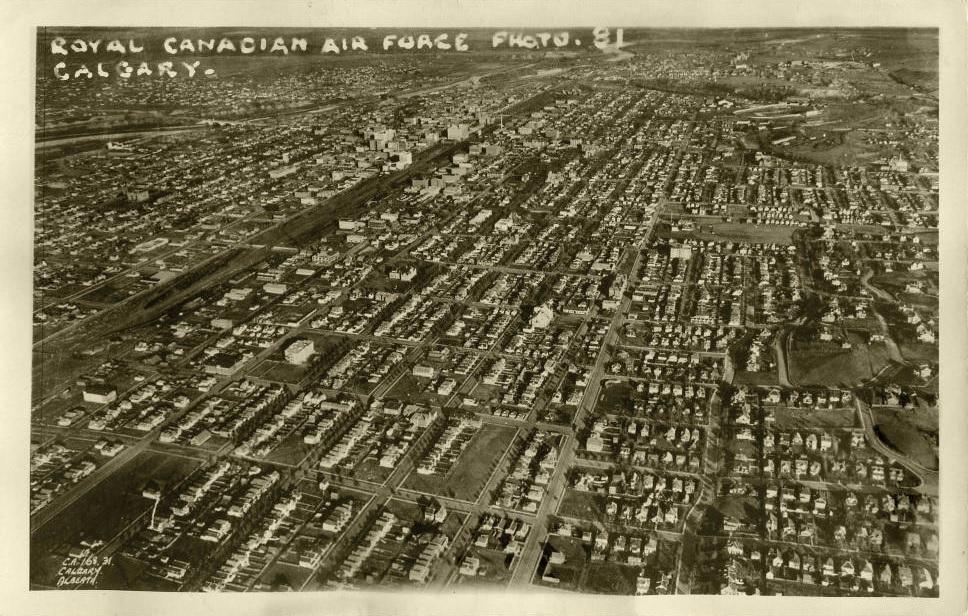 calgary historic aerial view-1