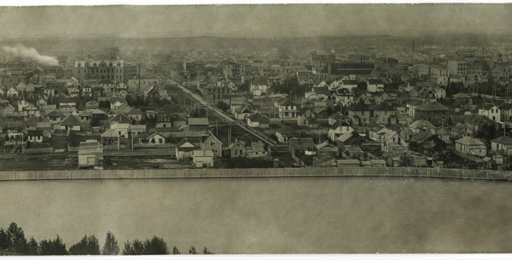 calgary historic aerial view-2