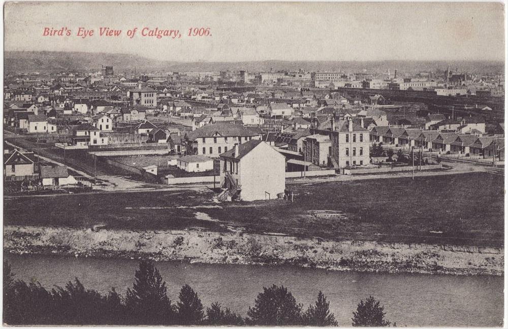 calgary historic aerial view-3