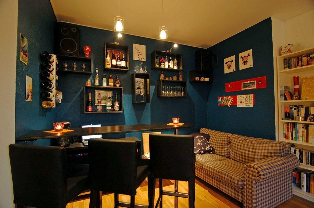 diy wall bar