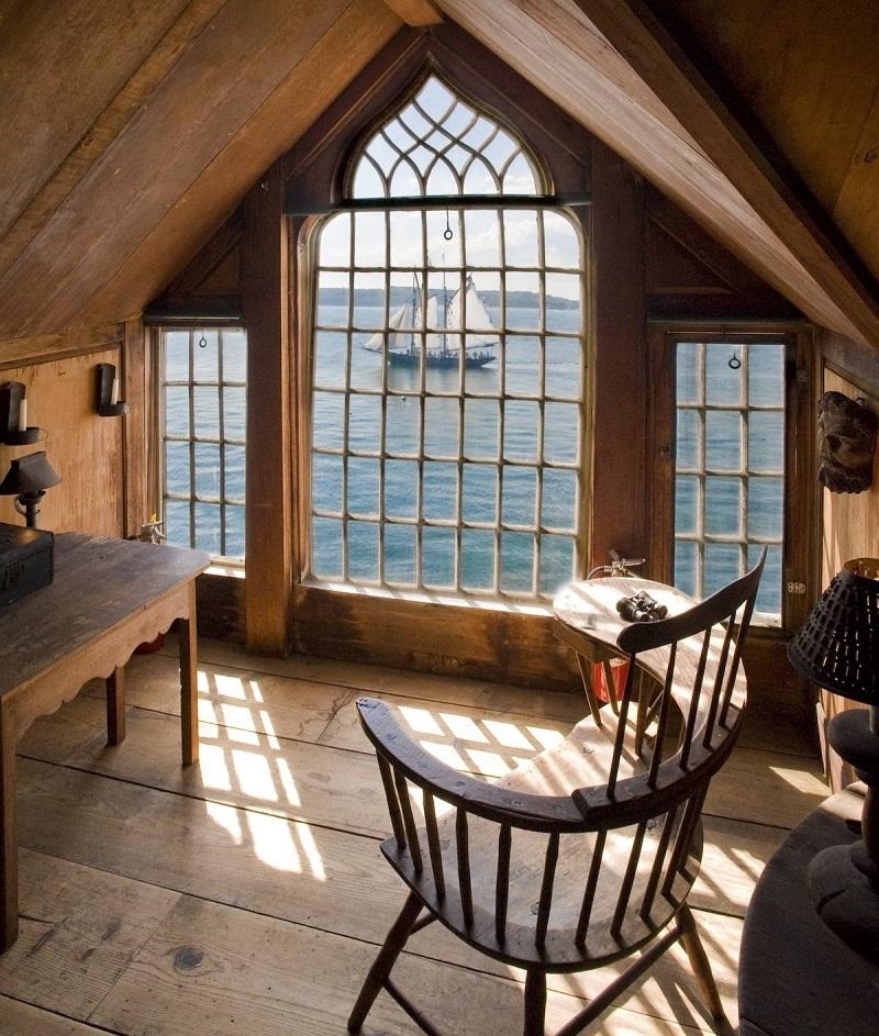 ocean view attic