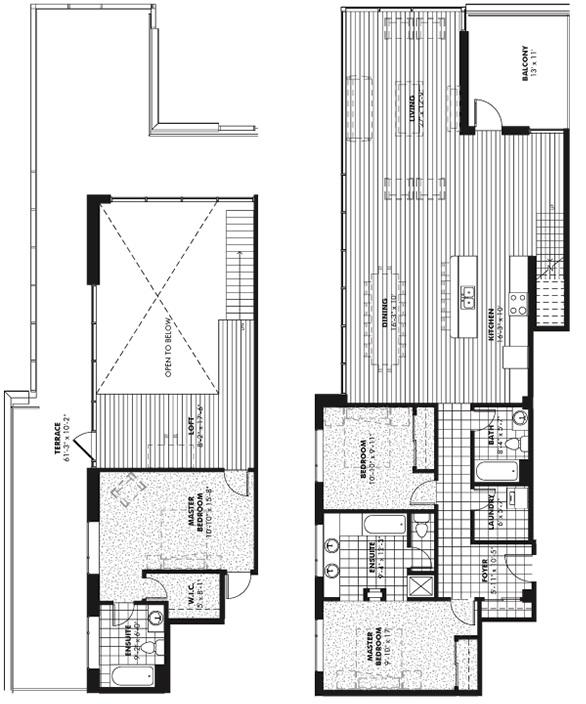 penthouse 4 The Signature Condos Edmonton