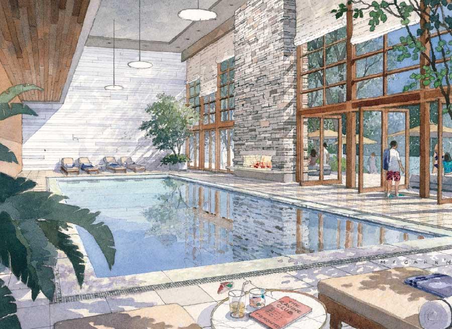 ravine club pool