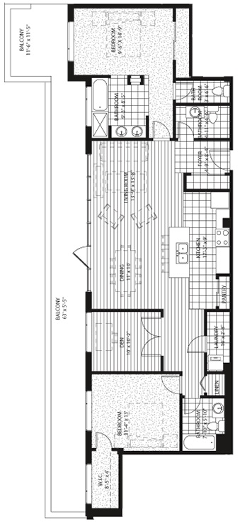 sub penthouse The Signature Condos Edmonton