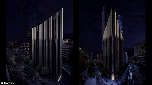 tower light up