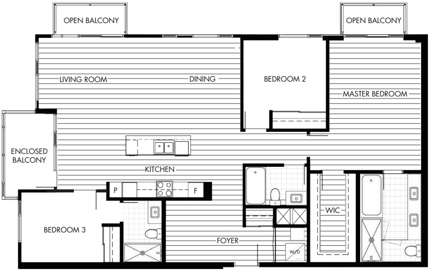 west 10th and maple floorplan