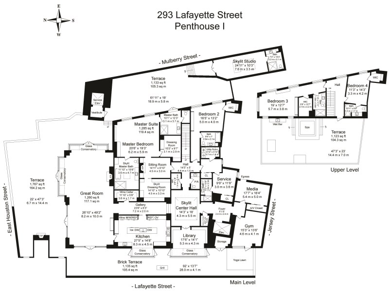 293 Lafayette Street Floorplan