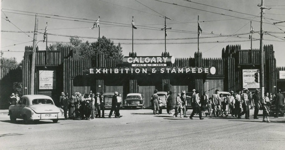 13 Vintage And Very Awesome Postcards From The Calgary