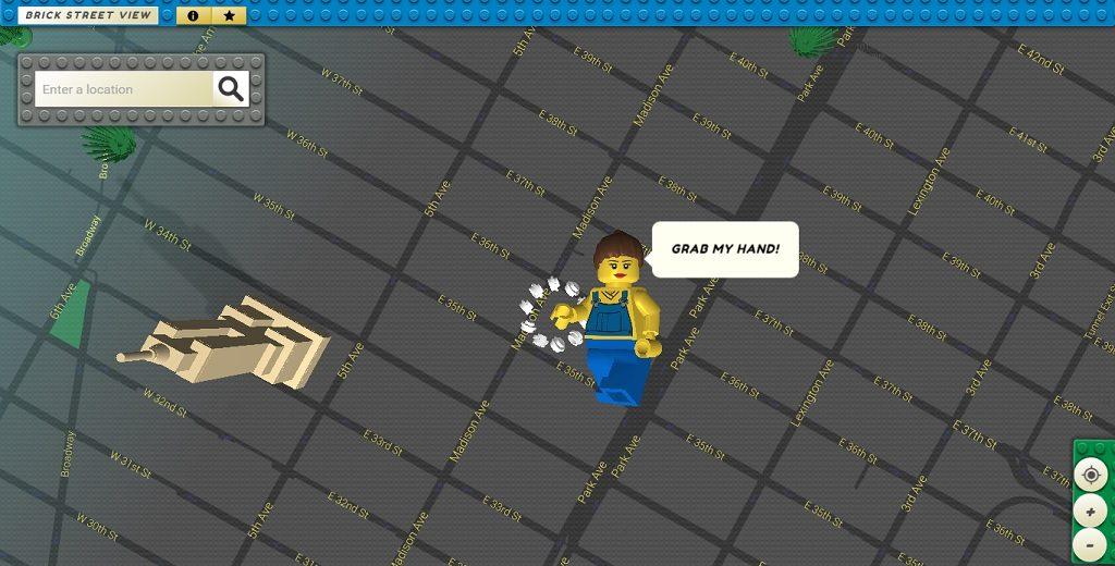 LEGO Google Street View