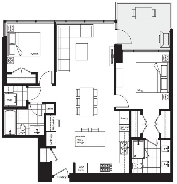 Modello floorplan