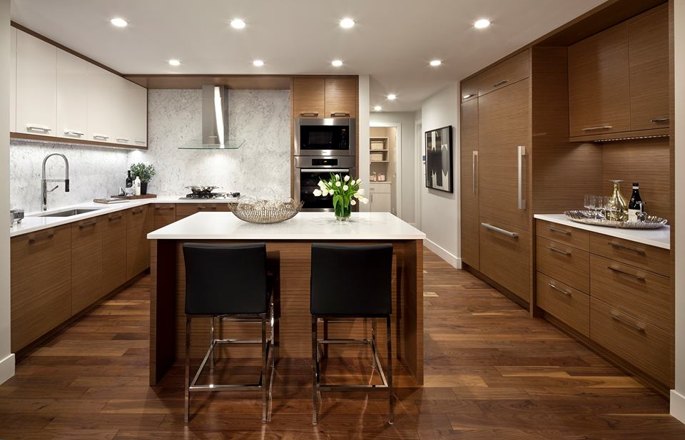 Modello kitchen Burnaby condos