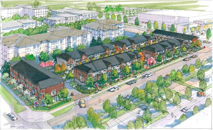Oxford Lane townhomes Richmond