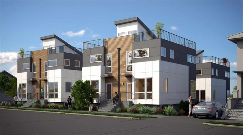 Parc West Seattle homes