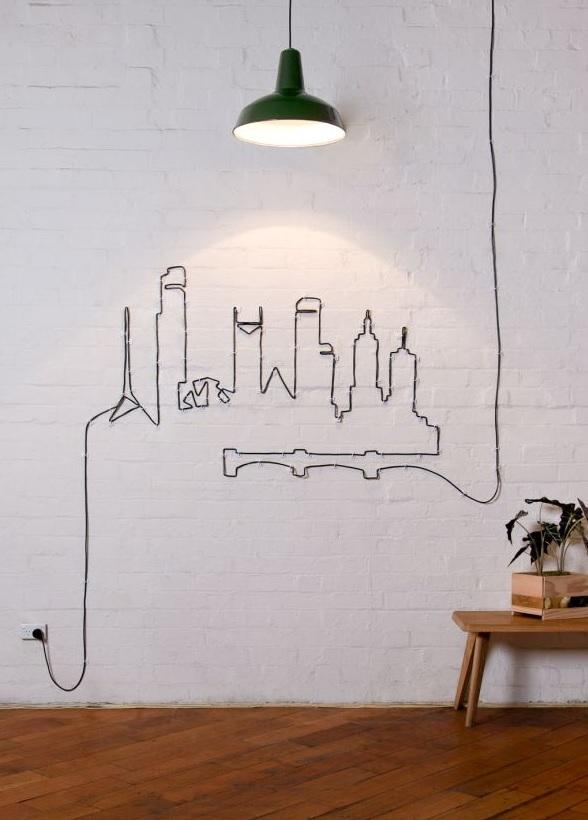 cords wall art