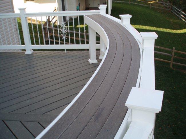 deck bar rail
