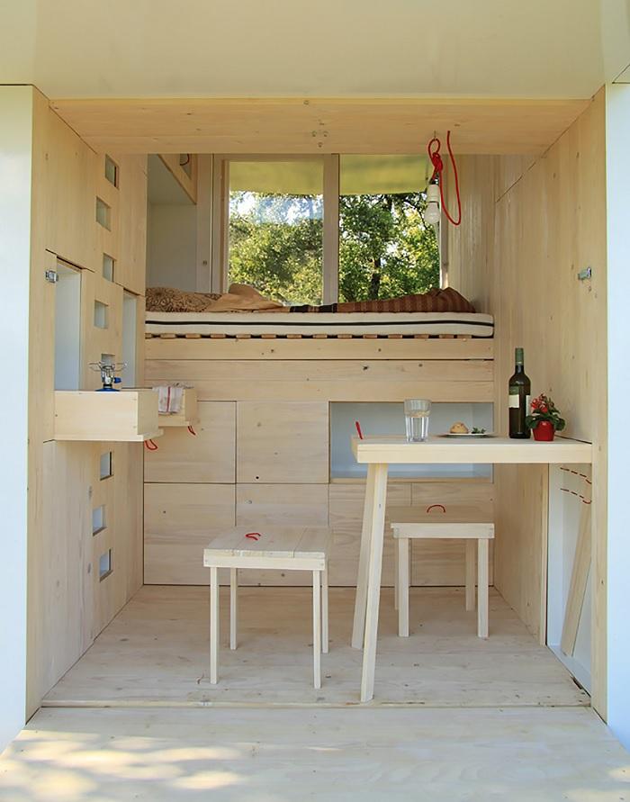 mobile loft cabin-1