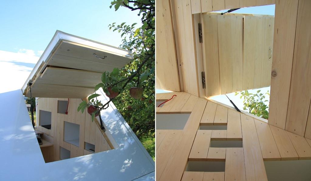 mobile loft cabin