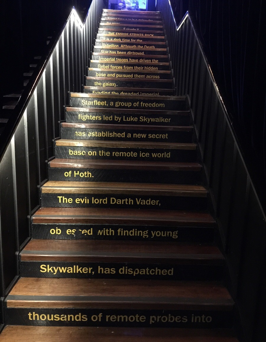 star wars stairs