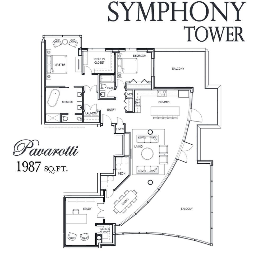 symphony floorplan