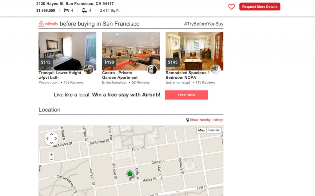 Airbnb Realtor.com