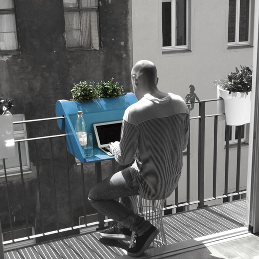 Balcony desk