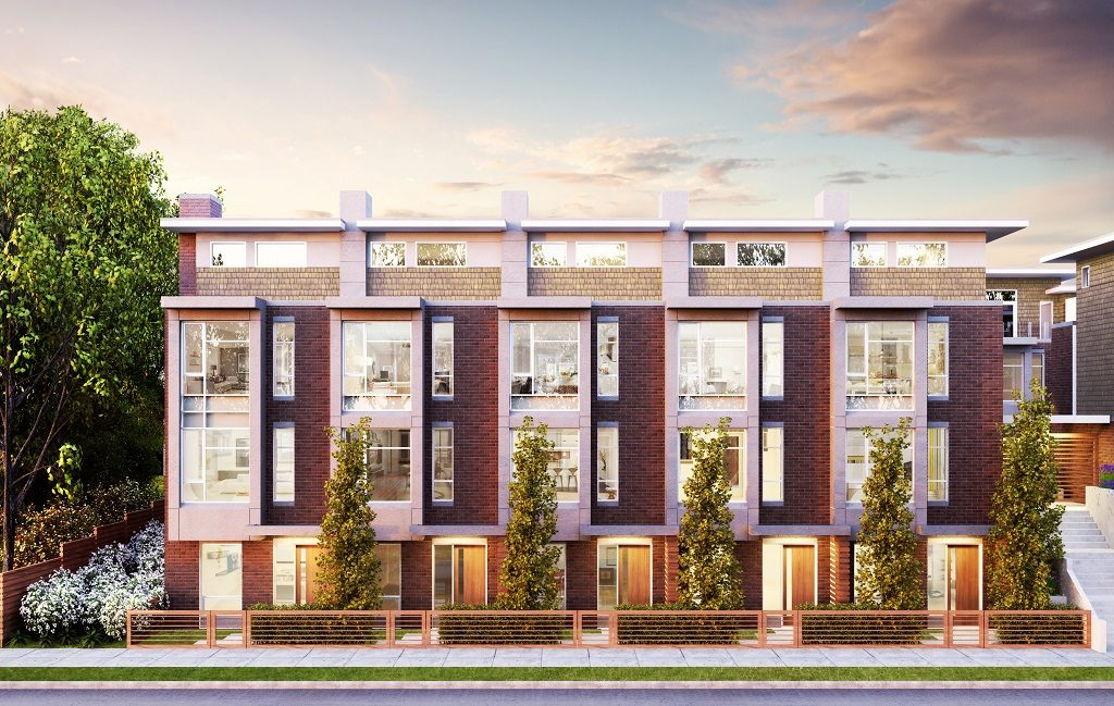 Bennet Vancouver townhomes