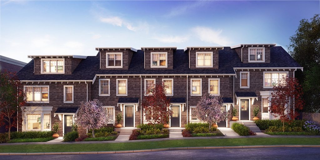 Bishop Vancouver townhomes