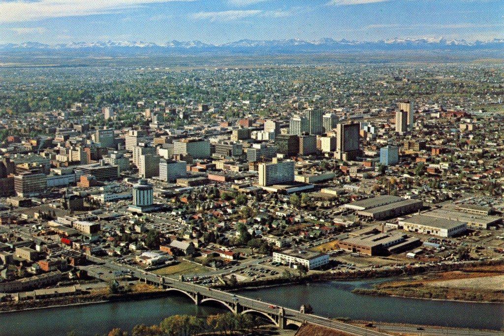 Calgary 1960s historic