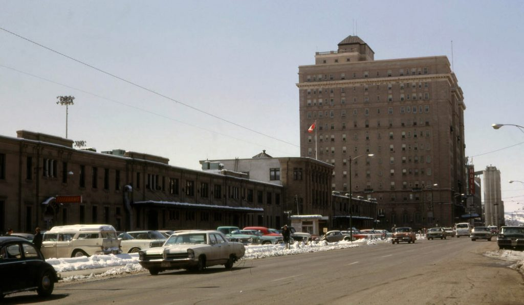 Calgary Pallister Hotel 1960s
