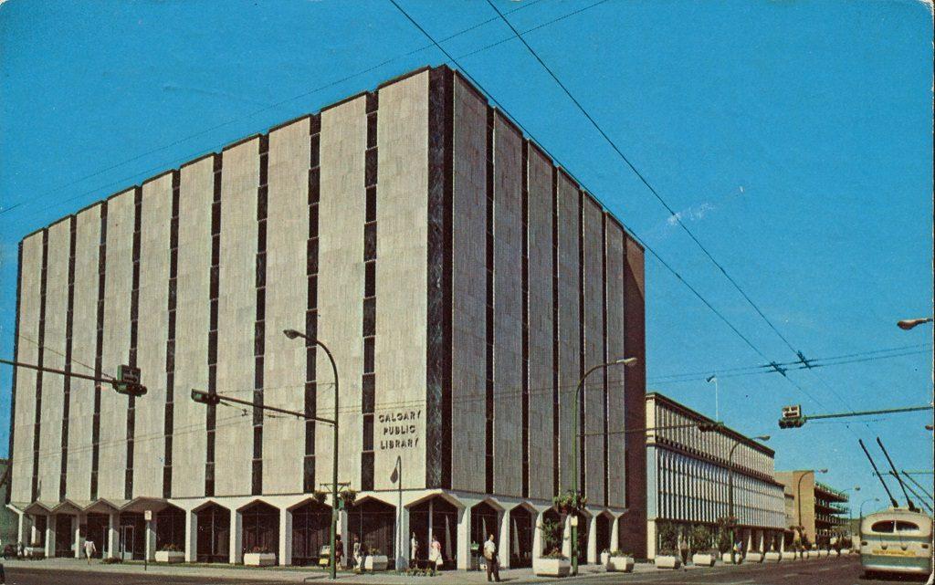 Calgary Public Libary 1960s