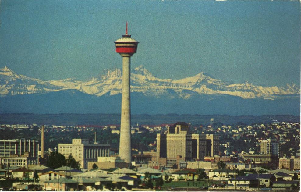Calgary Tower 1969