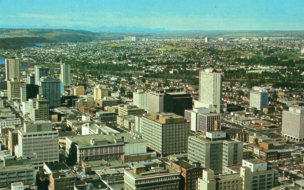 Calgary history 1960s-1