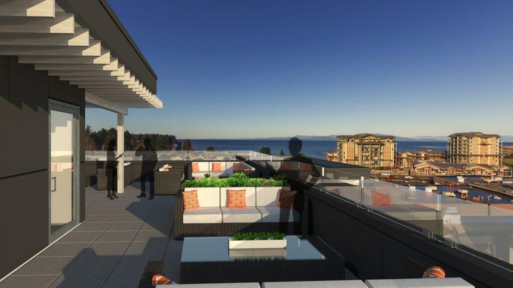 McMillan Villas rooftop deck