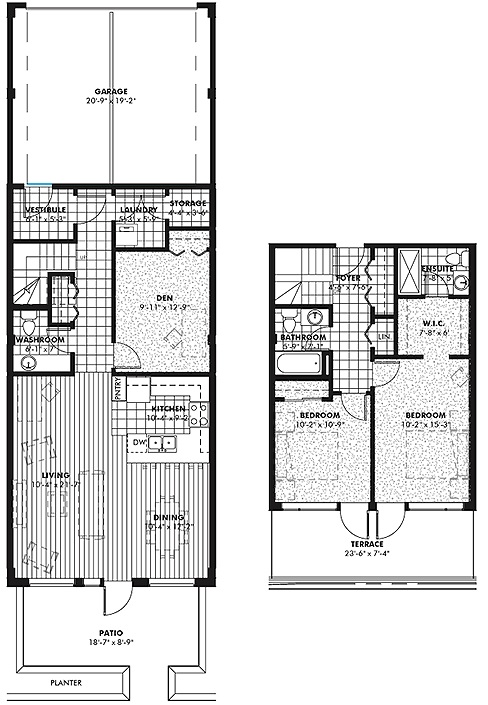 The Signature Condos floorplan